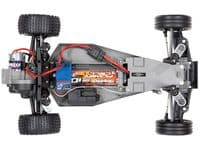 Traxxas Red X Bandit 1:10 2WD Off-Road Buggy (+ TQ, XL-5, Titan 550, 7-Cell NiMH, DC Charger)